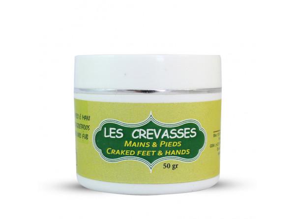 Crème naturelle contre crevasse des mains et pieds