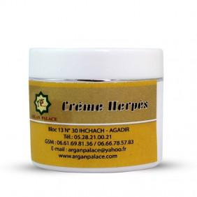 Crème naturelle contre l'herpès