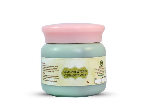 Crème naturelle contre les verrues