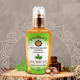 Body care with argan oil with Verbena 130ml
