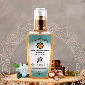 Body Care with Gardenia Argan Oil 130ml