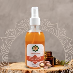 Argan oil for tanning